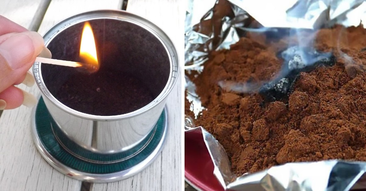 How to Burn Coffee Grounds for Mosquito Control